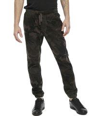 pantalón brave soul multicolor - calce regular