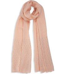 bindya women's embellished scarf - light pink