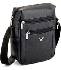 bolsa transversal com compartimento térmico viccina preto