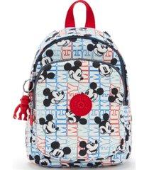 kipling disney's mickey mouse delia compact convertible backpack
