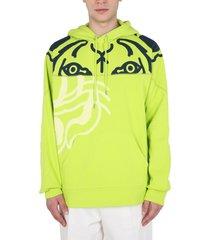 kenzo sweatshirt with k-tiger print