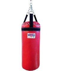 saco de pancada 60cm vermelho américa