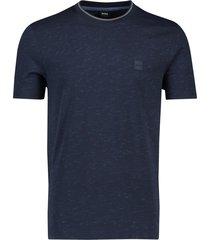 t-shirt donkerblauw geprint hugo boss temew