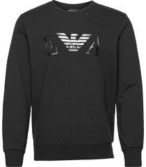 homewear sweater sweat-shirt tröja svart emporio armani