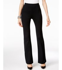inc high-waist curvy-fit bootcut ponte pants, created for macy's