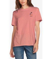 volcom juniors' graphic-print cotton t-shirt