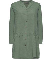 bxelexia peplum dress dresses shirt dresses grön b.young