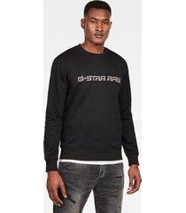 embro paneled gr sweater