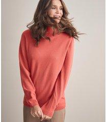 maglia dolcevita cashmere ultrasoft  manica lunga