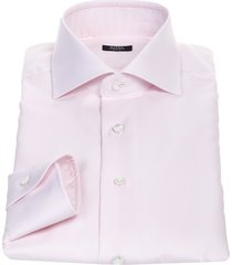 barba napoli barba cotton shirt, pink