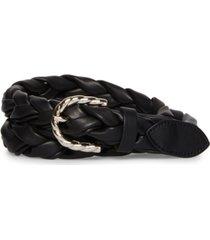 steve madden women's braided belt
