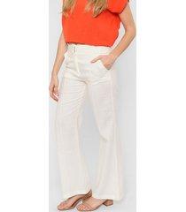 pantalón  blanco liguria lino