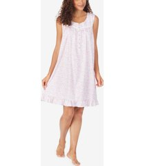 eileen west floral-print chemise nightgown