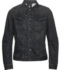arc 3d slim jkt jeansjack denimjack zwart g-star raw