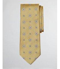 corbata spaced medallion dorado brooks brothers