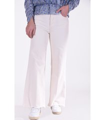 mother jeans tomcat crème