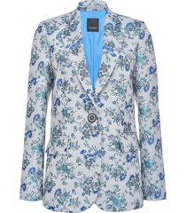pinko blazer floreale donna