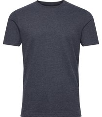 6194761, t-shirt - rock ss organic t-shirts short-sleeved blå solid
