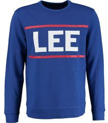 lee kobaltblauwe sweater