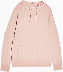 mens pink classic hoodie