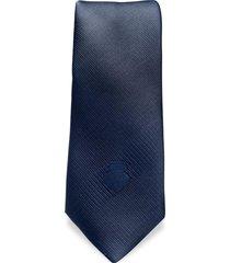 corbata universidad de chile azul marino sederías santiago