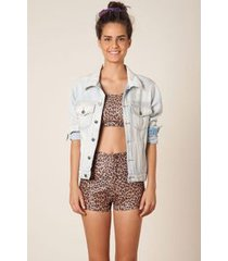 short hot pants oncinha