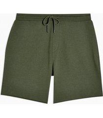 mens khaki jersey shorts