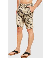 traje de baño mormaii hybrid boardshort tropical camo multicolor - calce regular