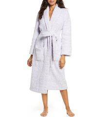 women's barefoot dreams cozychic unisex robe, size 2 - purple