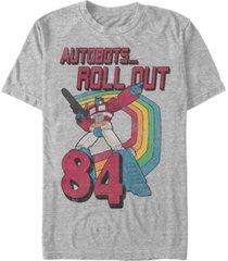 fifth sun men's retro optimus short sleeve crew t-shirt