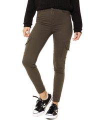 pantalón verde byh jeans croton