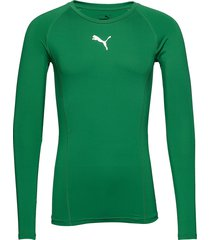 liga baselayer tee ls base layer tops grön puma