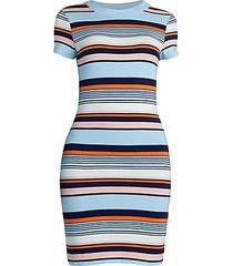 byatt striped bodycon t-shirt dress