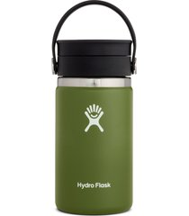 hydro flask 12-ounce coffee flask with flex sip(tm) lid, size one size - green