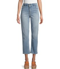 true religion women's jennie high-rise cropped jeans - molted moves - size 28 (4-6)