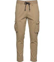 akbean pants trousers cargo pants beige anerkjendt