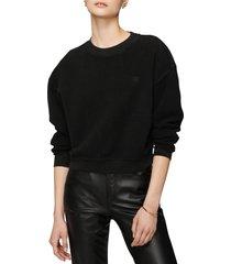 women's anine bing reed cotton sweatshirt