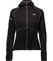 base warm up jacket outerwear sport jackets svart newline