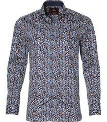 jac hensen overhemd - modern fit - bordo