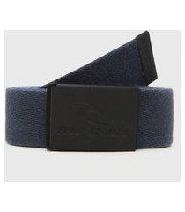 cinto dupla face rip curl snap revo webbed belt azul/azul-marinho