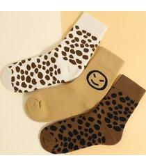 1 par de gráficos patrón calcetines