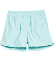 men's noah solid volley swim trunks, size x-large - blue (nordstrom exclusive)