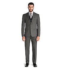 executive collection traditional fit men's suit - big & tall by jos. a. bank
