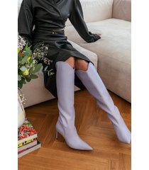 na-kd shoes boots - purple
