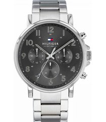 reloj tommy hilfiger 1710382 plateado acero inoxidable