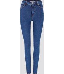 high waist curve skinny jeans - blå
