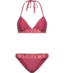 beach bikini w bikini röd adidas performance