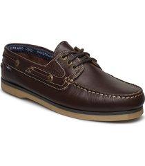 original 3-eye båtskor skor brun marstrand