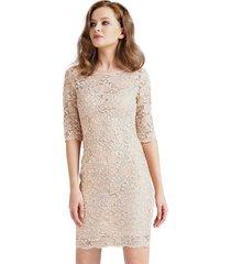 3/4 bandage lace dress