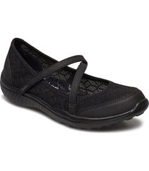 womens be-light - eyes on me ballerinaskor ballerinas svart skechers